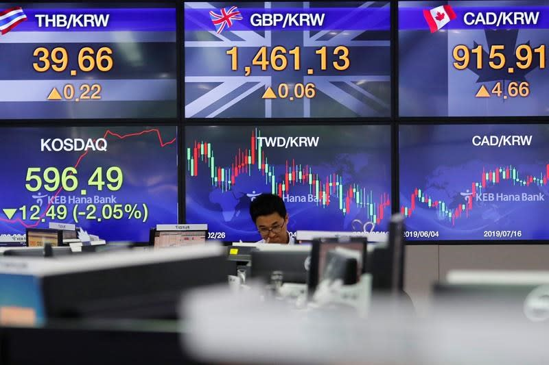 Stocks turn higher as Trump claims China trade talks back on