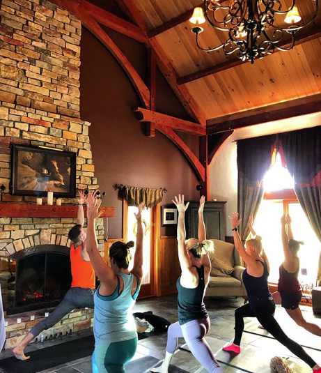 """<p>Take a step into the Hocking Hills region and stay at the <a href=""""https://www.newleafwellnessretreat.com"""" rel=""""nofollow noopener"""" target=""""_blank"""" data-ylk=""""slk:New Leaf Wellness Retreat"""" class=""""link rapid-noclick-resp"""">New Leaf Wellness Retreat</a>. This health and wellness retreat is perfect for your next staycation if staying fit in mind and body are your thing. A primary focus in yoga is preferred for this resort, but not mandatory. You can take cooking classes, walk a winery and even learn how to journal better at this snazzy place. While in Hocking Hills, check out <a href=""""https://www.hockinghills.com/old_mans_cave.html"""" rel=""""nofollow noopener"""" target=""""_blank"""" data-ylk=""""slk:Old Man's Cave"""" class=""""link rapid-noclick-resp"""">Old Man's Cave</a>. This beautiful state park will make you think you're in a movie—majestic waterfalls and pools dot most of the trails and you'll have no issue hiking there considering its paths are for the entire family. </p>"""