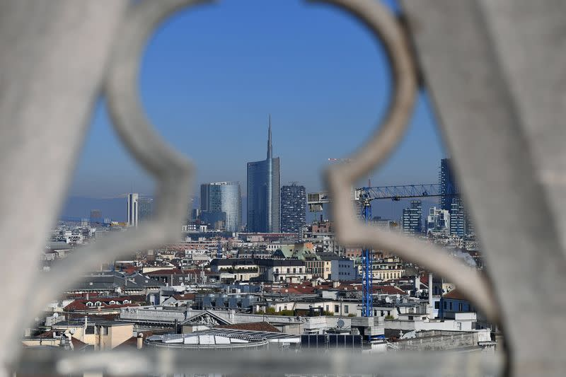 FILE PHOTO: Easing of COVID-19 restrictions in Milan