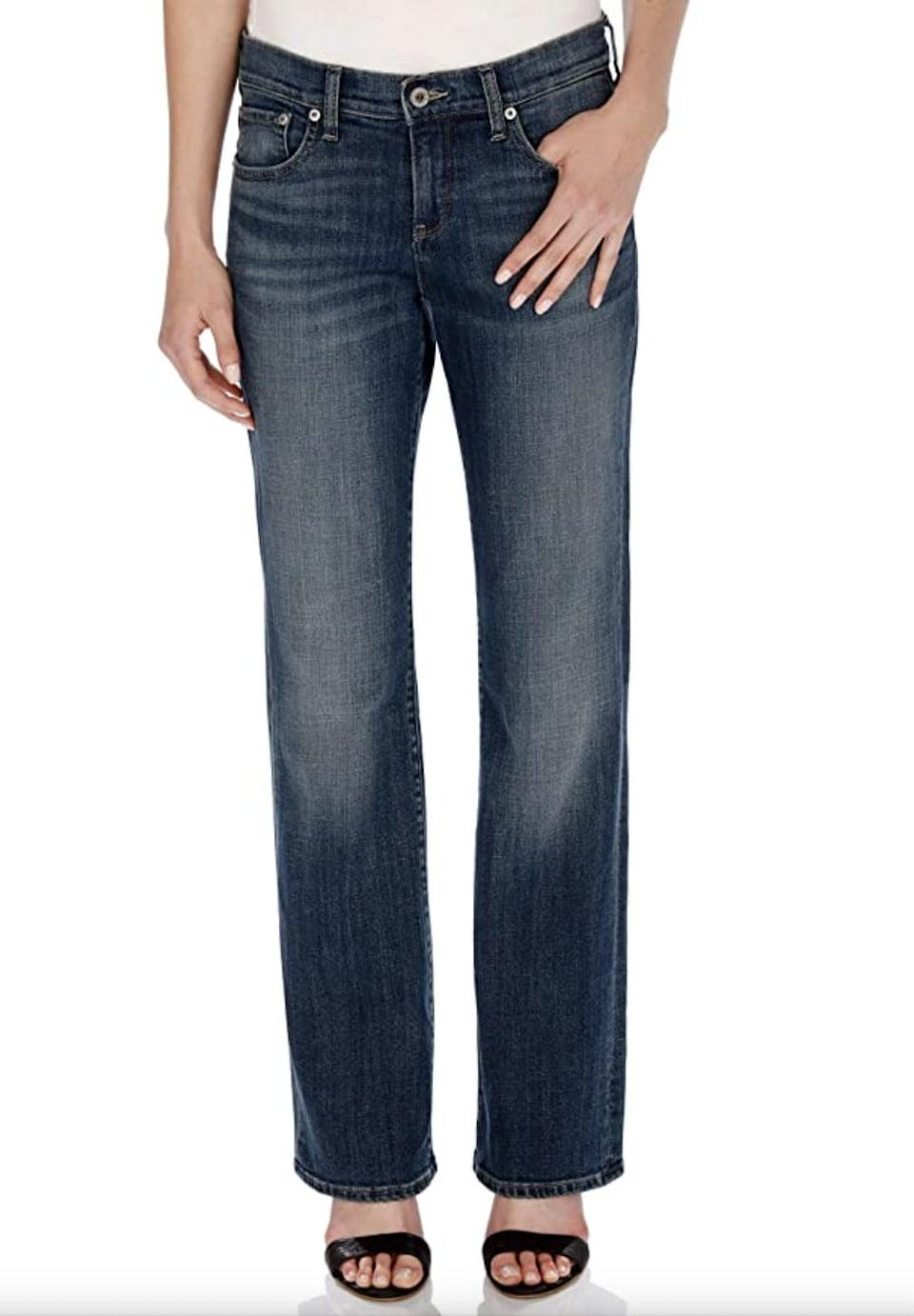 <p>If you're into a more relaxed fit, consider these <span>Lucky Brand Mid Rise Easy Rider Bootcut Jeans</span> ($53 - $107).</p>