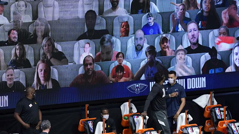 How to become a virtual fan, land on video board during 2020 NBA restart