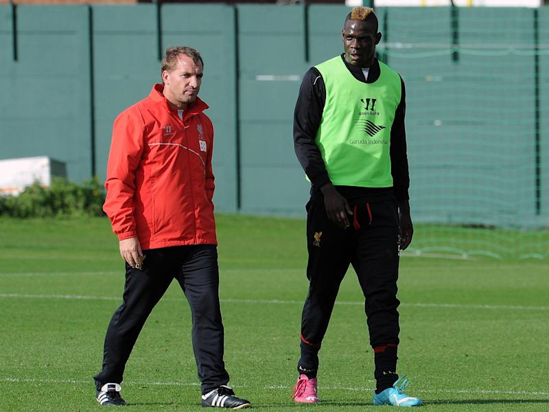 Rodgers only managed to get one goal out of Balotelli: Getty