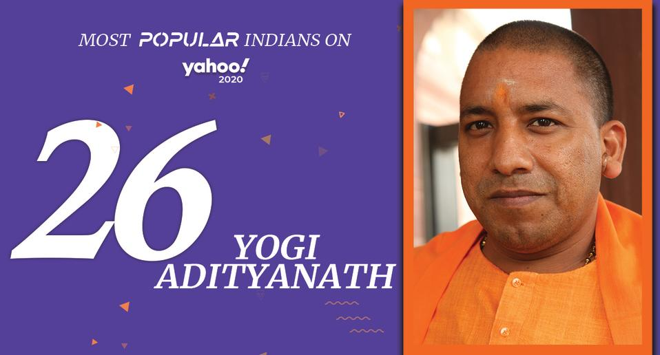 Yogi Adityanath, (born June 5, 1972) <br>Chief Minister of Uttar Pradesh