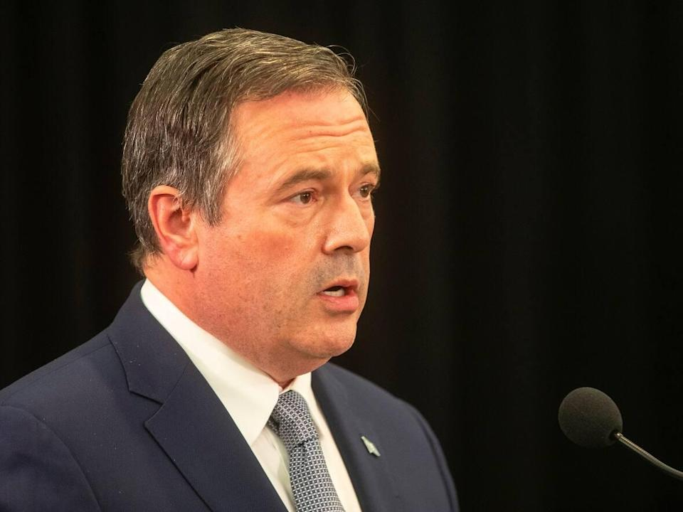 Jason Kenney has faced intense pushback from his caucus and party on his handling of the COVID-19 pandemic. (THE CANADIAN PRESS - image credit)