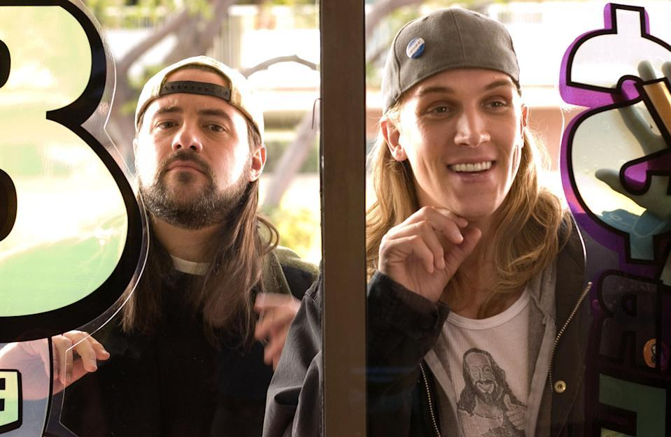 Kevin Smith and Jason Mewes in 'Clerks II' (The Weinstein Co.)