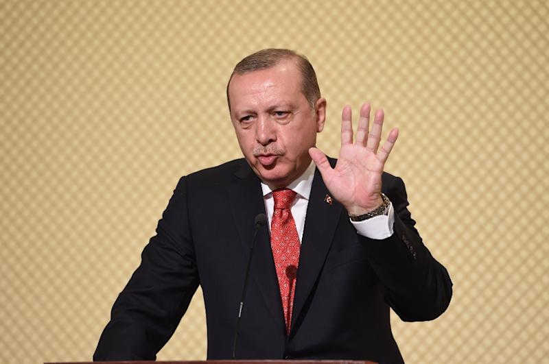 Turkey's President Recep Tayyip Erdogan had repeatedly slammed the New York trial of a Turkish banker as a plot against Turkey