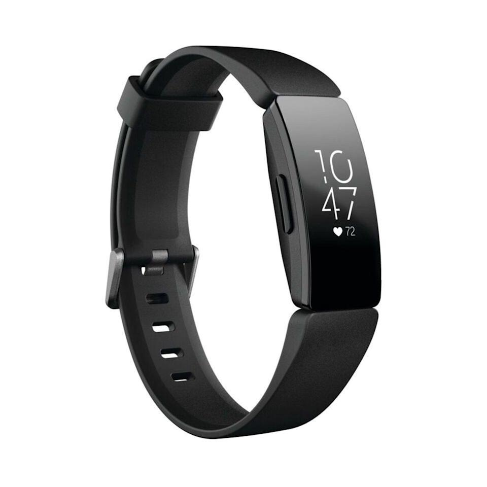 <p>This <span>Fitbit Inspire HR,Fitness Tracker with Heart Rate</span> ($95) will help them stay fit and motivated.</p>