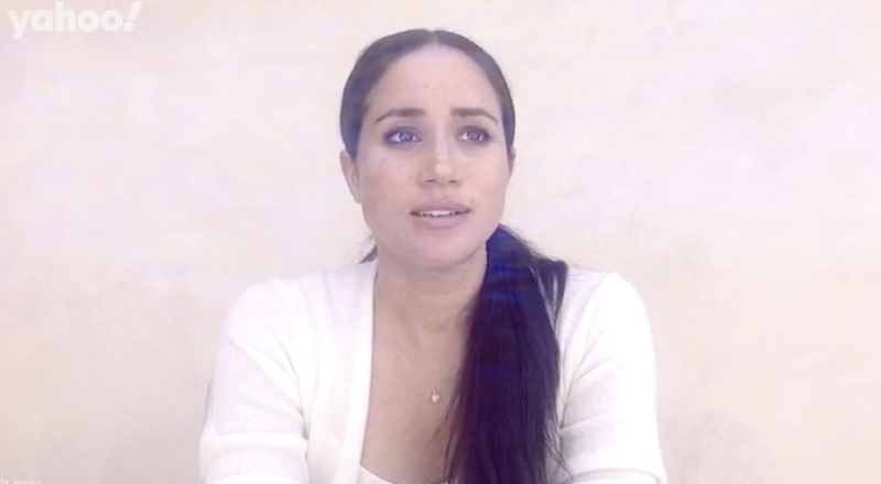 Meghan Markle has spoken out in a moving video message following George Floyd's death.