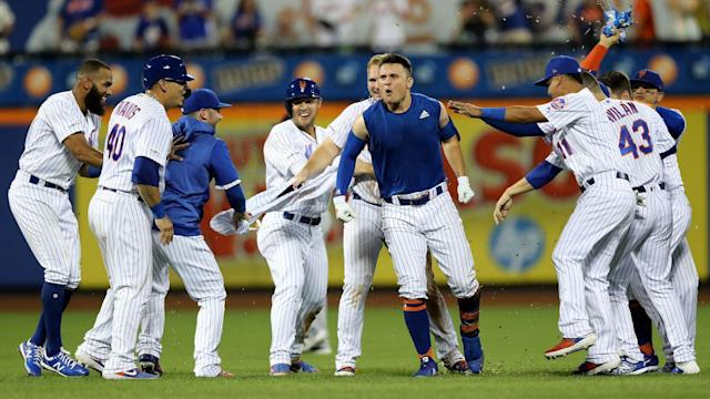 The Mets overcame a lot of weirdness and dysfunction to get here