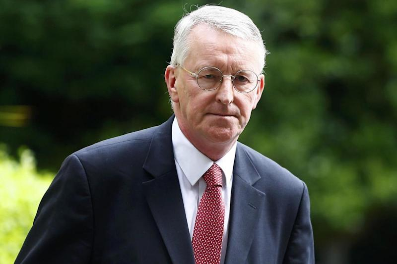 Hilary Benn said the analysis suggests Brexit will have an 'adverse effect' on the economy (Neil Hall/Reuters)