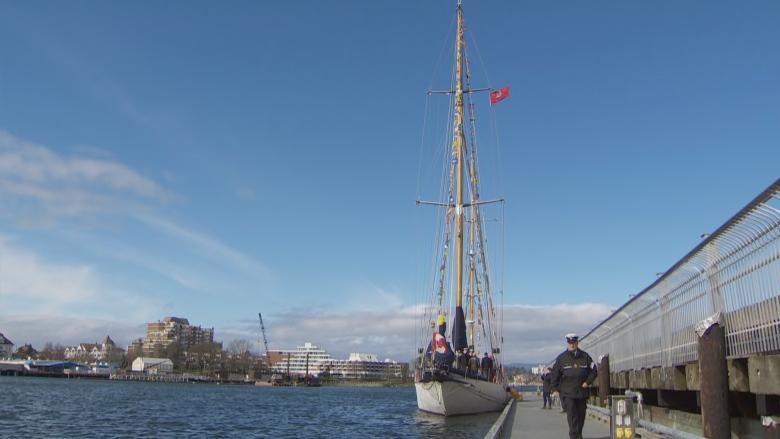 Historic navy tall ship coming to Charlottetown for Canada Day