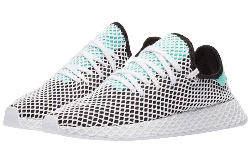 """<p><strong>Deerupt Runner</strong><strong></strong></p><p>Adidas' Deerupt sneakers have a cage-like netting around them, which gives a supremely cool look to a very functional sneaker.   </p><p><em>$99, <a rel=""""nofollow"""" href=""""https://www.endclothing.com/us/adidas-deerupt-runner-b28076.html"""">endclothing.com</a></em></p><p><a rel=""""nofollow"""" href=""""https://www.endclothing.com/us/adidas-deerupt-runner-b28076.html"""">SHOP</a></p>"""