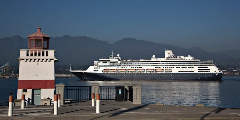 Holland America MS Zaandam in 2012..JPG