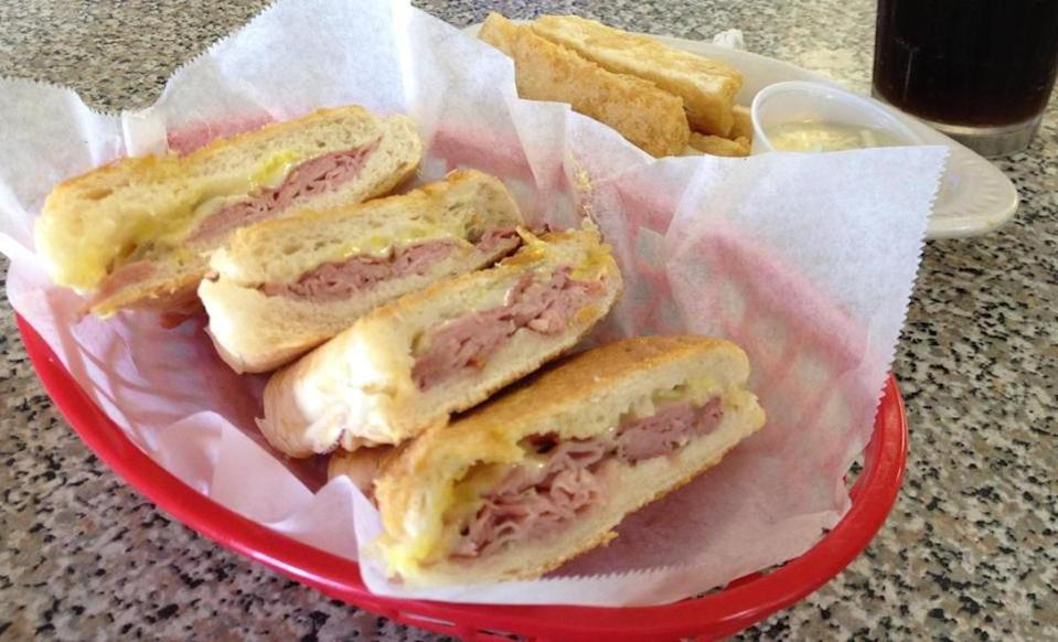 """<p>With 33 tips and reviews. Sean writes, """"Hands down the best Cafe con Leche in town. The Honey Cuban sandwich is the go-to. Where the Cubans come to eat."""" <a href=""""http://www.westtampasandwichshoprestaurant.com/"""" rel=""""nofollow noopener"""" target=""""_blank"""" data-ylk=""""slk:3904 N. Armenia Ave."""" class=""""link rapid-noclick-resp"""">3904 N. Armenia Ave.</a></p>"""