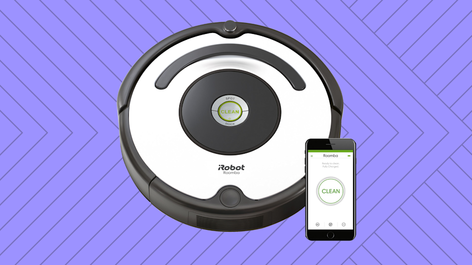 At over 30 percent off, you'll be cleaning up on, and with, the iRobot Roomba 670 Robot Vacuum. (Photo: Walmart)