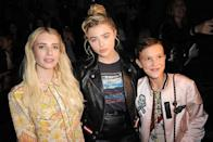 <p>Here Millie looks like she could be Emma Roberts and Chloe Moretz's little sister.</p>