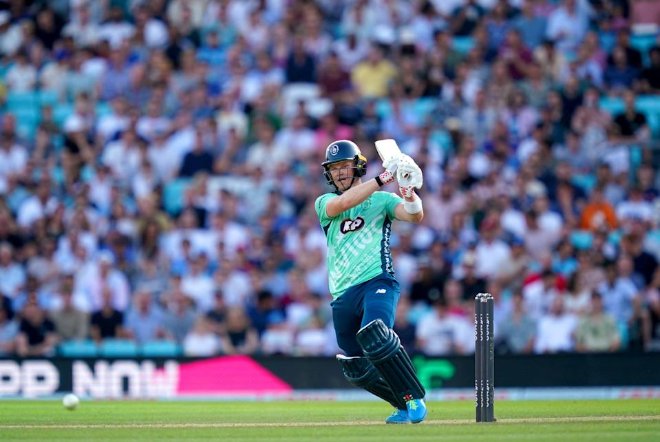 Sam Billings hit 49 to help Oval Invincibles beat Manchester Originals (John Walton/PA) (PA Wire)