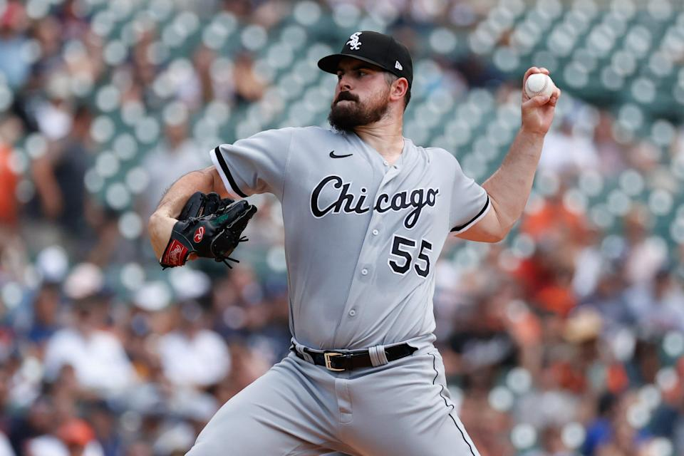 Chicago White Sox starting pitcher Carlos Rodon recently went after MLB commissioner Rob Manfred over the league's new ban on foreign substances.