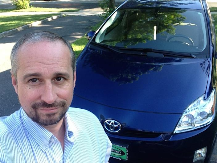"I own two Toyota hybrids: a Prius and RAV4. <p class=""copyright"">Matthew DeBord/Business Insider</p>"