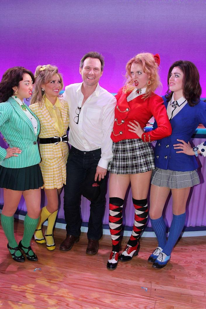 """<p>Grab your pleated skirts and mallets and take on Heather Duke, Heather McNamara, Heather Chandler, Veronica Sawyer, and Jason Dean from <em>Heathers</em>. </p><p><a class=""""link rapid-noclick-resp"""" href=""""https://www.amazon.com/Elibelle-Womens-Adjustable-Pleated-05Checks/dp/B081CX8SGX?tag=syn-yahoo-20&ascsubtag=%5Bartid%7C10070.g.3083%5Bsrc%7Cyahoo-us"""" rel=""""nofollow noopener"""" target=""""_blank"""" data-ylk=""""slk:SHOP PLEATED SKIRTS"""">SHOP PLEATED SKIRTS</a></p>"""