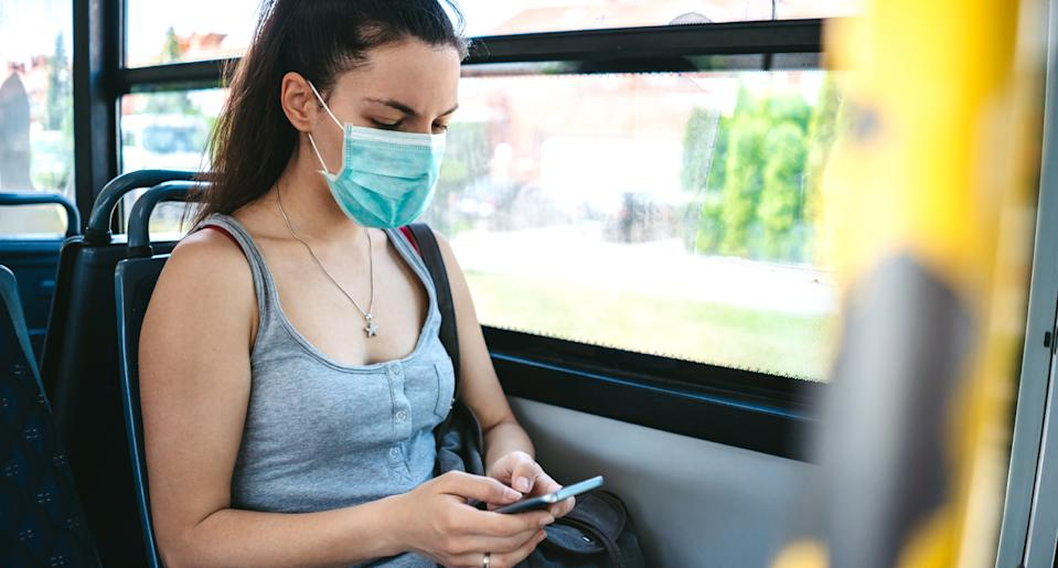 Those face masks may not help prevent a coronavirus infection. (Photo: Getty Images)