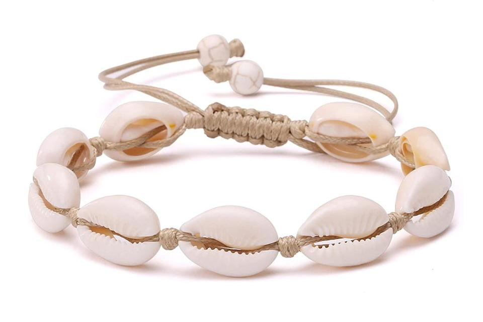 potessa, anklet, style, shell