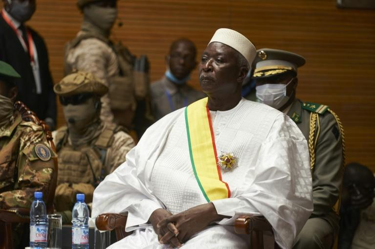 Mali's new interim leader stands by handover, international accords
