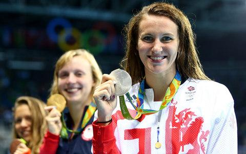 Jazz Carlin -British Olympians for hire as BOA look to raise cash for Tokyo 2020 - Credit: Getty Images