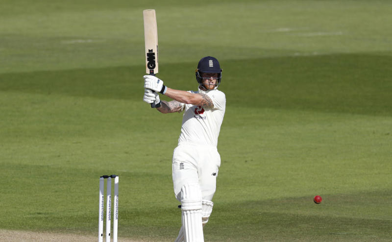 England's decision to bat first under overcast conditions backfired as they were reduced to 87 for 5. From here, Ben Stokes took over and scored 43 runs, top-scoring for his side in first innings. But he did not get any support from others and England ended up putting only 204 on the board. AP