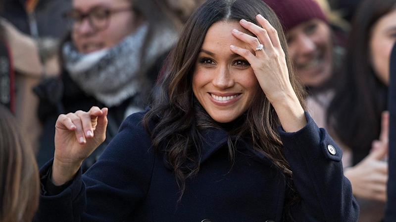 Meghan Markle Pays a Visit to Her Future Wedding Reception Venue for Queen's Staff Christmas Party