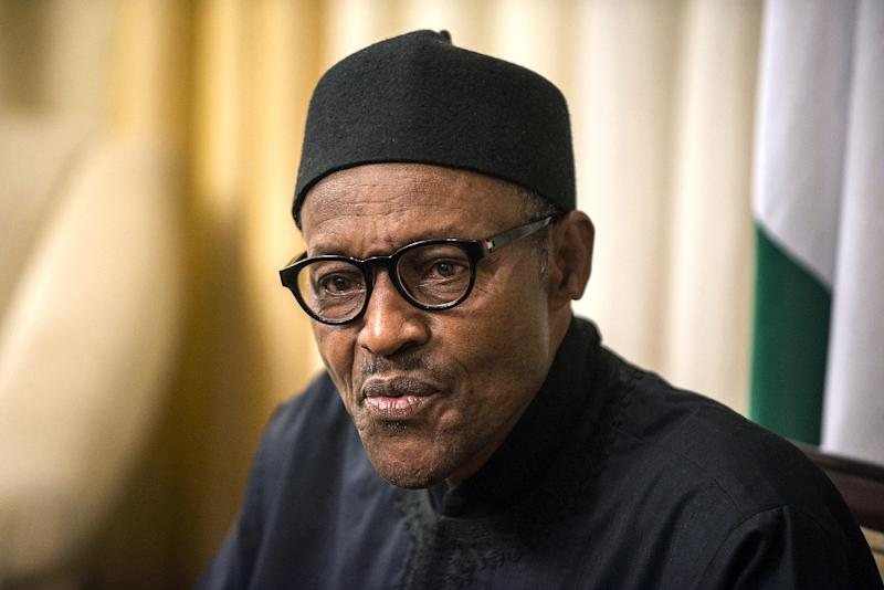 Nigerian president Muhammadu Buhari, pictured during an interview with Agence France-Presse on June 14, 2015, will travel to neighbouring Cameroon to consult with counterpart Paul Biya on Boko Haram's insurgency (AFP Photo/Mujahid Safodien)