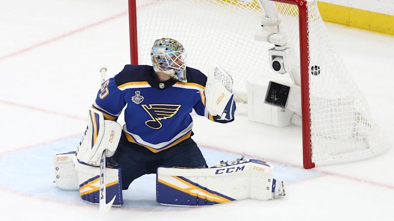 Blues agree to two-year deal with G Binnington