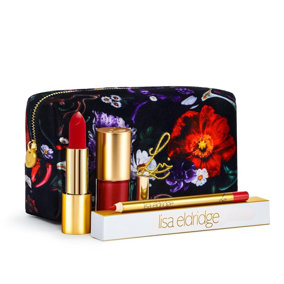 <p>For a Gemini, you can't go wrong with a gift that contains different options, like the <span>Lisa Eldridge Velvet Ribbon Kit</span> ($63), to represent their dual nature. Now, they'll have an option for each of their twin personas: the matte lipstick for their serious side and the moisturizing lip gloss for their outgoing side.</p>