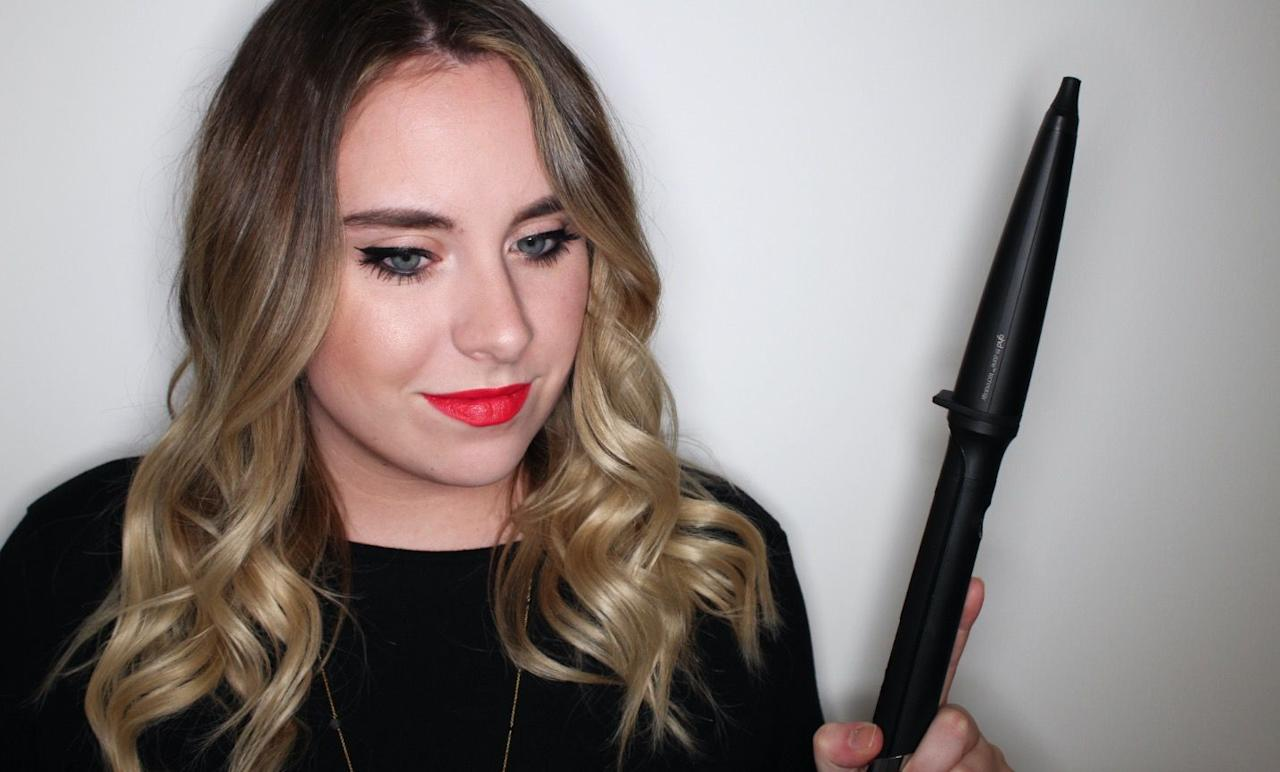"<p><a rel=""nofollow"" href=""https://www.feelunique.com/p/Ghd-Creative-Curl-Wand"">Shop now</a><strong> </strong>Feelunique.com, £120<br></p><p><strong>Best curling wand for: Defined waves</strong> </p><p>The tapered barrel of this wand goes from 28mm to 23mm, meaning you get a looser voluminous curl at the top of your hair, and tighter, defined curls toward the ends. Similarly to the first ghd tong, the barrel has a ceramic coating, so hair stays smooth and frizz-free. Waves look clean and defined after curling, but you can opt for a dishevelled finish by running your fingers through the lengths and giving strands a blast with some texture spray. It also has a cool tip to help avoid burnt fingers and a 30 minute automatic off-switch for peace of mind.  </p><p><strong>Temperature:</strong> It heats up to 185°C, so it will curl hair without damaging the strands. <br></p><p><strong>Staying power:</strong> Ah-mazing staying power. If your hair never holds a curl make sure you give this wand a try. Once curled my hair stayed wavy till I next washed it, with only a slight drop.</p>"