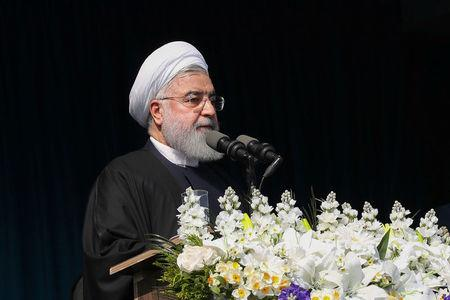 Iran President Rouhani in Baghdad to 'expand ties with Iraq'