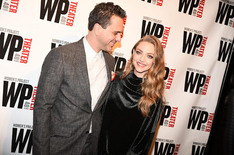 Amanda Seyfried and husband Thomas Sadoski welcomed their second child, a baby boy, in September.