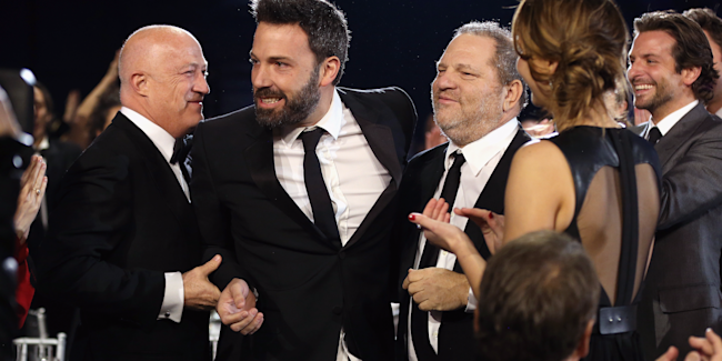 Ben Affleck Harvey Weinstein