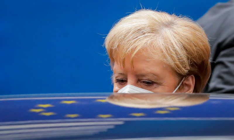 EU leaders summit arrivals in Brussels