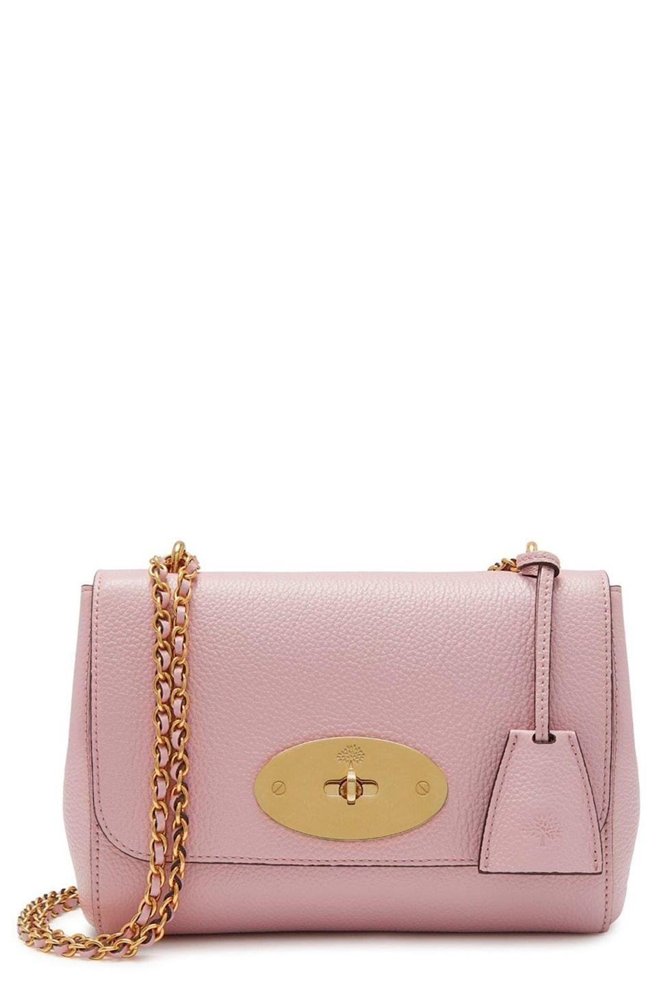 """<p><strong>Mulberry</strong></p><p>nordstrom.com</p><p><strong>$925.00</strong></p><p><a href=""""https://go.redirectingat.com?id=74968X1596630&url=https%3A%2F%2Fwww.nordstrom.com%2Fs%2Fmulberry-lily-convertible-leather-shoulder-bag%2F5788487&sref=https%3A%2F%2Fwww.townandcountrymag.com%2Fstyle%2Ffashion-trends%2Fg10344923%2Fkate-middleton-favorite-fashion-brands-designers%2F"""" rel=""""nofollow noopener"""" target=""""_blank"""" data-ylk=""""slk:Shop Now"""" class=""""link rapid-noclick-resp"""">Shop Now</a></p><p>Mulberry clearly has a special place in the Duchess of Cambridge's heart, and closet. She owns several of the brand's handbags and clutches, and regularly rewears the designs.</p><p><strong>More:</strong> <a href=""""https://www.townandcountrymag.com/society/tradition/g32616301/meghan-markle-kate-middleton-queen-elizabeth-favorite-handbag-brands"""" rel=""""nofollow noopener"""" target=""""_blank"""" data-ylk=""""slk:Royals Love These Handbag Brands"""" class=""""link rapid-noclick-resp"""">Royals Love These Handbag Brands</a></p>"""