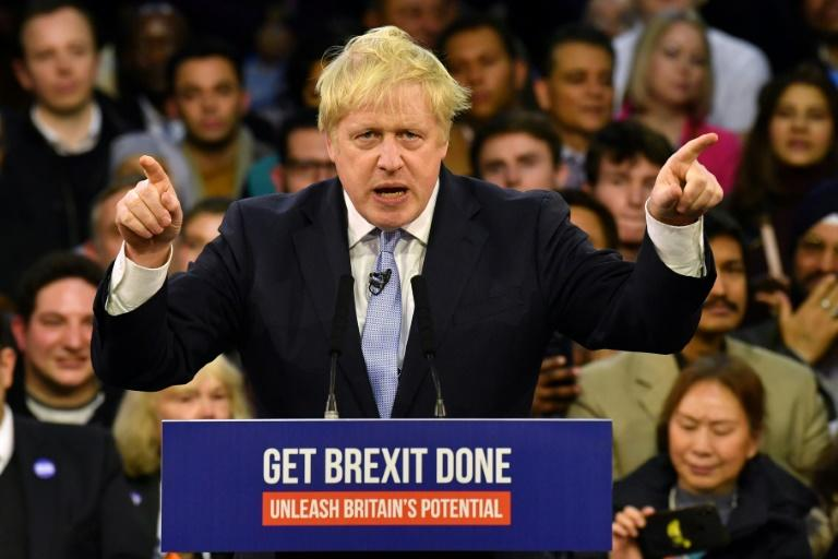 Britain's Prime Minister  Boris Johnson secured a  parliamentary majority in December's elections