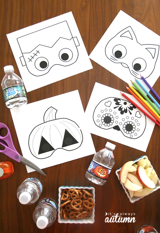 "<p>Let your little ones get creative as they fill in <a rel=""nofollow"" href=""https://www.countryliving.com/diy-crafts/g3480/diy-halloween-masks/"">these masks</a> by encouraging them to use lots of color.</p><p><strong>Get the tutorial at <a rel=""nofollow"" href=""https://www.itsalwaysautumn.com/halloween-masks-print-color.html"">It's Always Autumn</a>.</strong></p><p><a rel=""nofollow"" href=""https://www.amazon.com/Crayola-68-4012-Colored-12-Count-Assorted/dp/B00FX9DFAU"">SHOP COLORED PENCILS</a></p>"