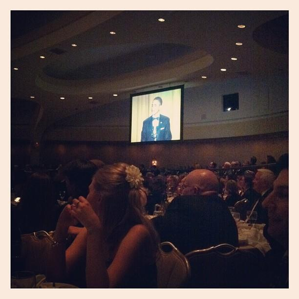 President Obama does stand up. #WHCD