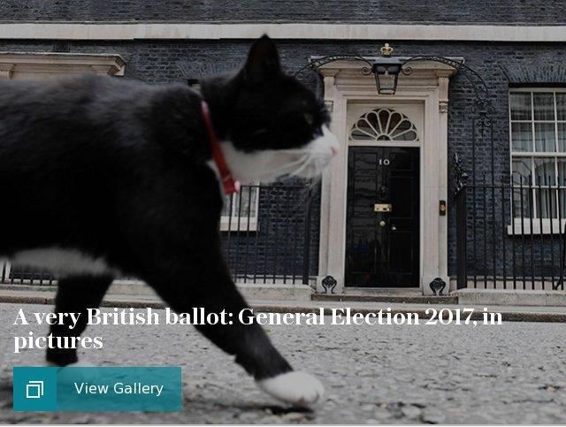 A very British ballot: General Election 2017, in pictures