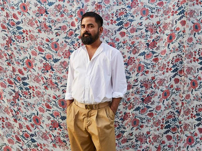 Indian designer Sabyasachi Mukherjee collaborating with H&M