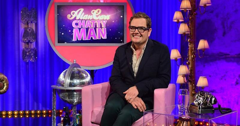 Alan Carr: Chatty Man returns for a Christmas special later this month (Copyright: Channel 4)