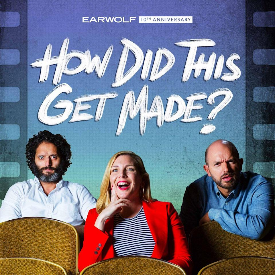 """<p>In December 2020, How Did This Get Made celebrated its tenth anniversary. A decade feels like a lifetime—especially in podcast years. And HDTGM has remains a podcast classic thanks to an unbeatable formula: Three hilarious comedians discuss some truly horrible films. Paul Scheer, June Diane Raphael, and Jason Mantzoukas have trudged through the worst of what Hollywood has to offer over the years, but this podcast isn't just about dunking on Bad Films. They've built a weird and beautiful community that has bonded over their love of watching shitty movies together. - <em>Matt Miller</em></p><p><a class=""""link rapid-noclick-resp"""" href=""""https://podcasts.apple.com/us/podcast/how-did-this-get-made/id409287913"""" rel=""""nofollow noopener"""" target=""""_blank"""" data-ylk=""""slk:Listen Now"""">Listen Now</a></p>"""