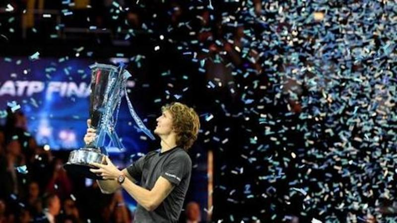 Zverev beats in-form Djokovic to grab first ATP Finals title