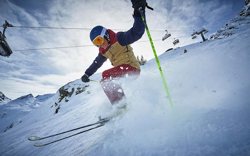 Martin Bell leads our expert ski test team - Adrian Myers 2018