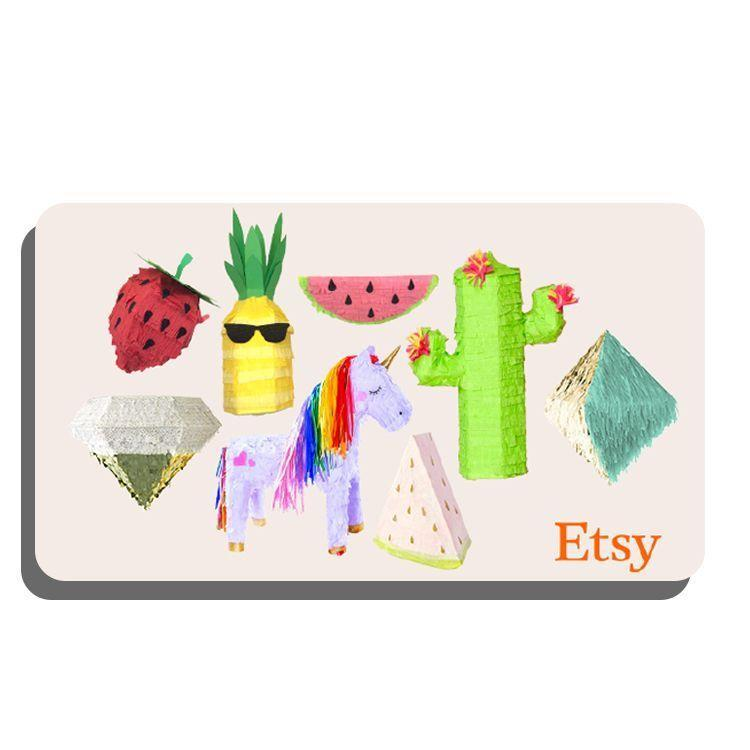 """<p><strong>Etsy</strong></p><p>etsy.com</p><p><strong>$25.00</strong></p><p><a href=""""https://go.redirectingat.com?id=74968X1596630&url=https%3A%2F%2Fwww.etsy.com%2Fgiftcards&sref=https%3A%2F%2Fwww.bestproducts.com%2Flifestyle%2Fg34252800%2Fbest-gift-cards%2F"""" rel=""""nofollow noopener"""" target=""""_blank"""" data-ylk=""""slk:Shop Now"""" class=""""link rapid-noclick-resp"""">Shop Now</a></p><p>If your gift recipient has an eye for original designs and a passion for shopping small, look no further than a gift card to Etsy. This maker-powered marketplace has everything from small-batch beauty to handmade garments to art prints galore. We also love that the site is also making it easier than ever to <a href=""""https://www.etsy.com/featured/blackownedshops?ref=hp_g"""" rel=""""nofollow noopener"""" target=""""_blank"""" data-ylk=""""slk:shop and support Black-owned businesses"""" class=""""link rapid-noclick-resp"""">shop and support Black-owned businesses</a>.</p>"""