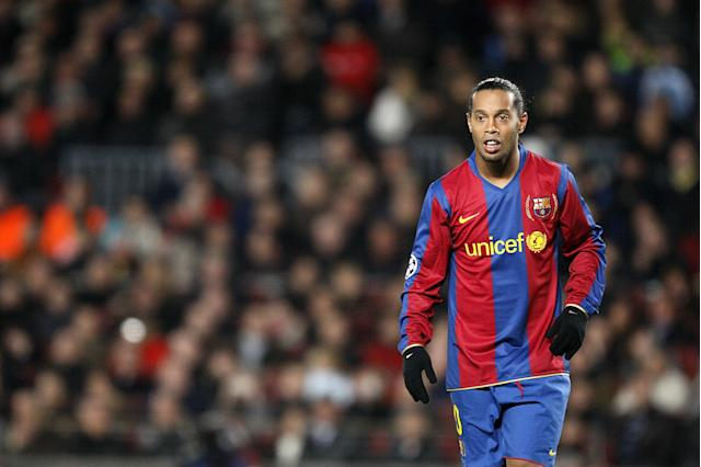 Gaucho Ronaldinho, Barcelona (Photo by Dave Thompson - PA Images/PA Images via Getty Images)